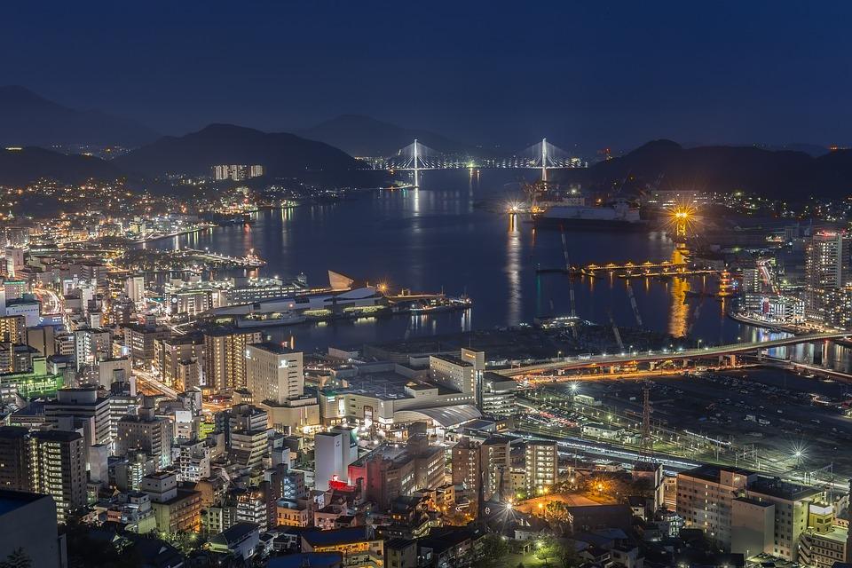 長崎夜景 - 日本三大夜景之一