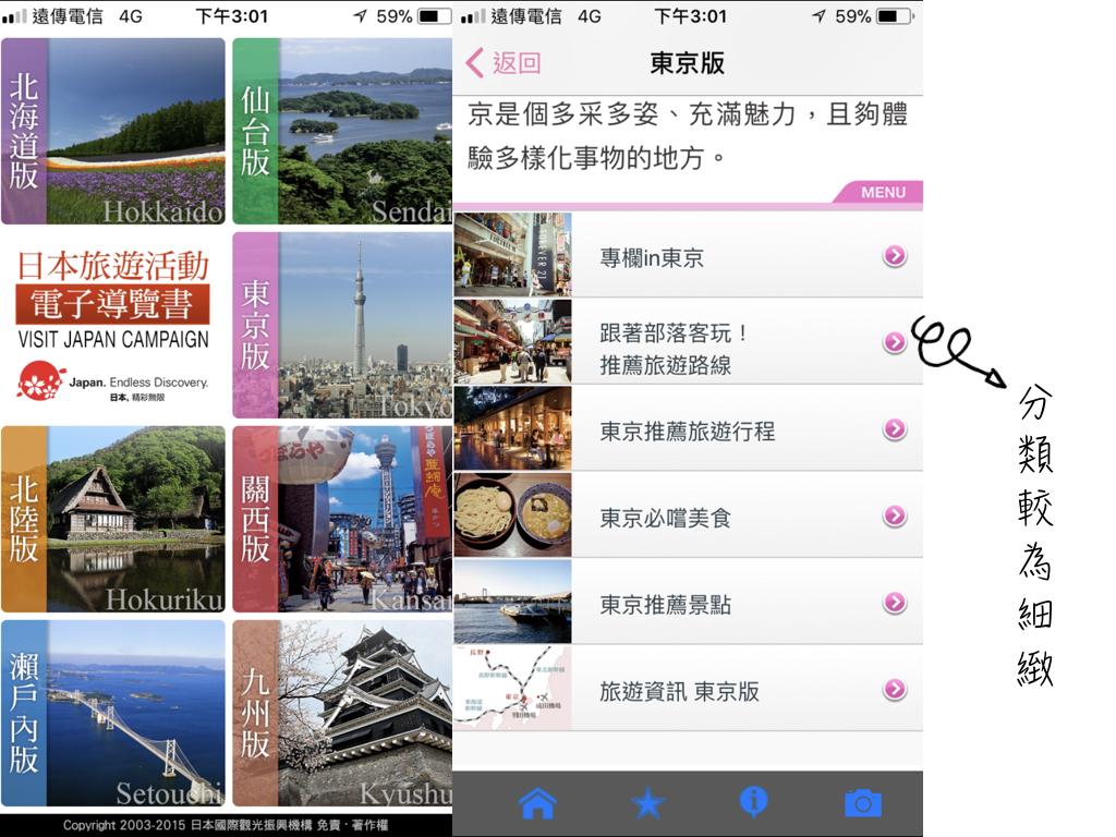 日本旅遊活動APP