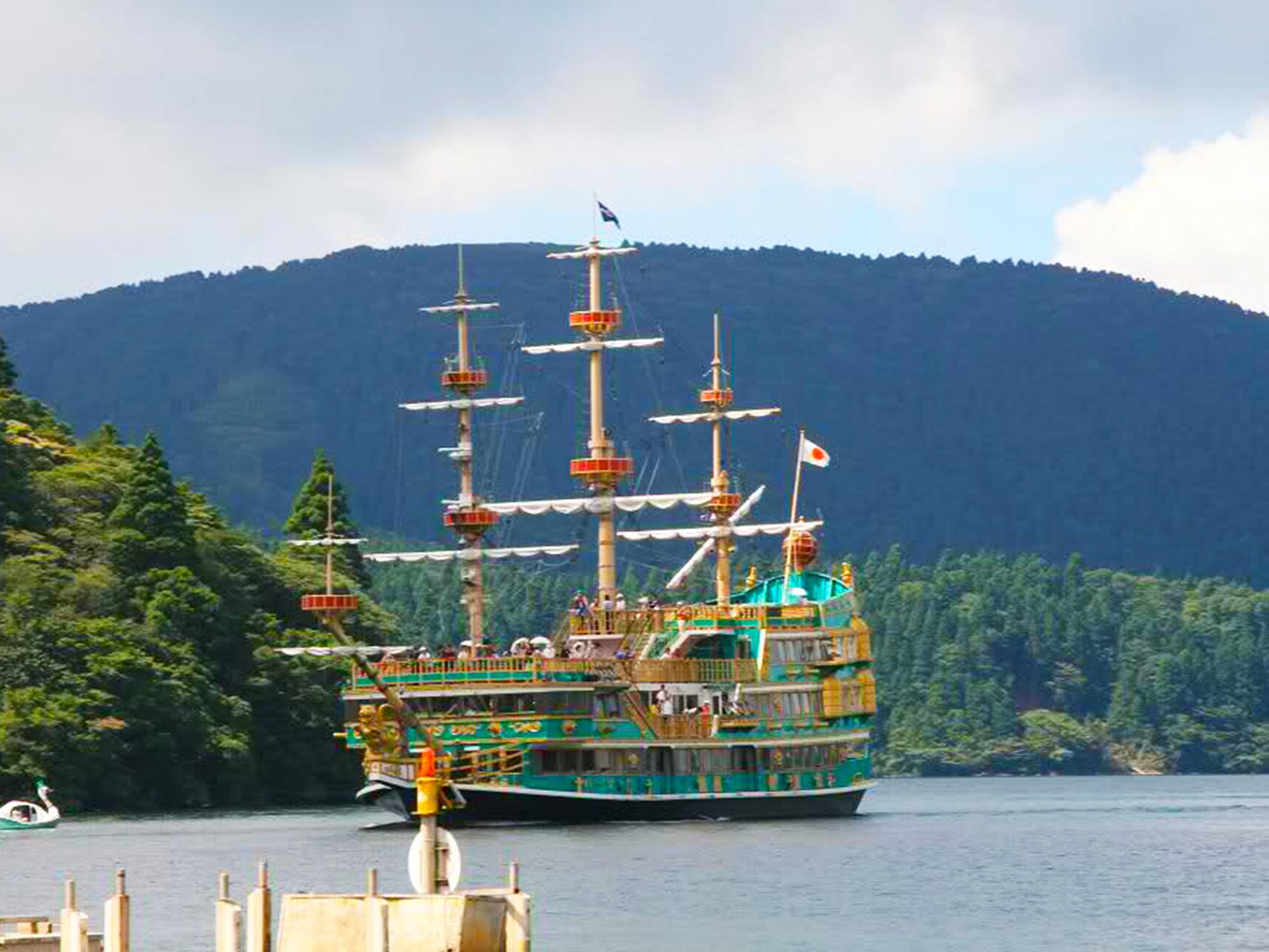10:50 ~ 11:30 - 蘆之湖海賊觀光船